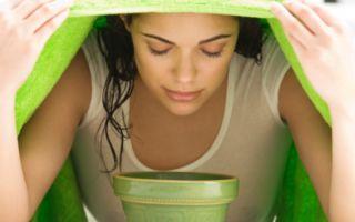 Ингаляции эфирными маслами против кашля у детей