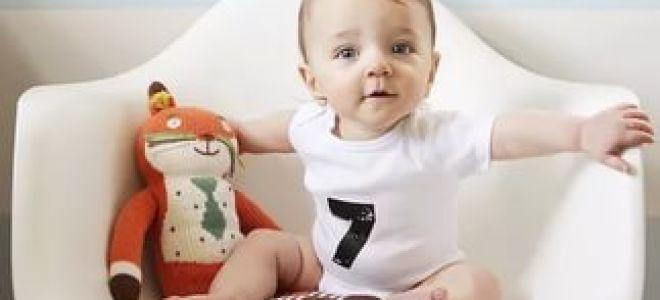 Чем лечить кашель у ребенка 7 месяцев