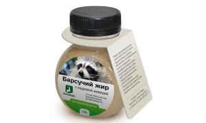 Барсучий жир при детском кашле: применение