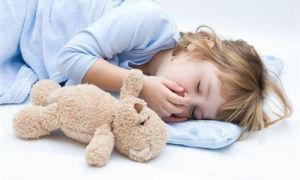 Кашель у ребенка во время сна – причины возникновения и методы лечения