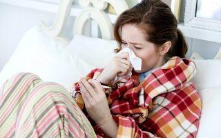 Что делать, если при простуде низкая температура