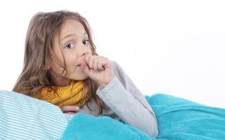 У ребенка не проходит кашель после бронхита: какие меры предпринять