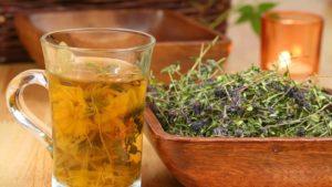 Настои и чаи из лекарственных трав