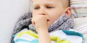 Сильный удушающий кашель у ребенка