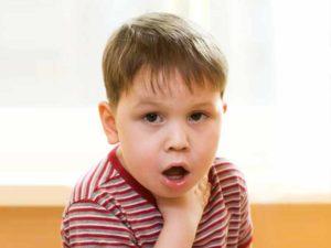 Удушающий кашель у ребенка