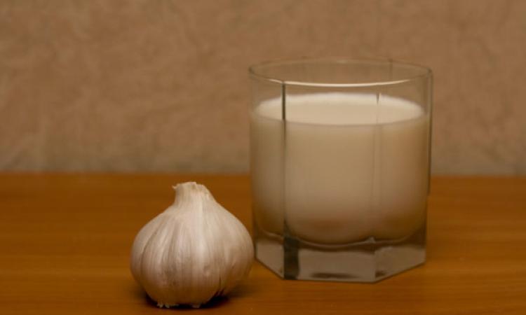 молоко с чесноком от паразитов для детей