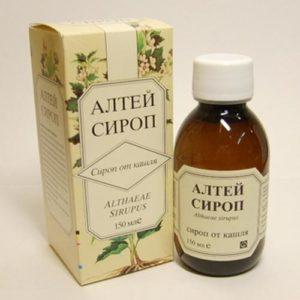 Корень алтеи сироп