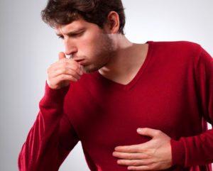 Сильный удушающий кашель