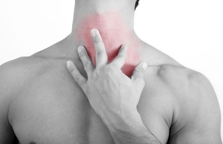 Легкая боль в шейном отделе