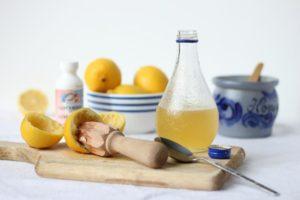 Мед, лимон и глицерин от кашля