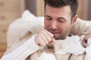Причины возникновения сухого кашля