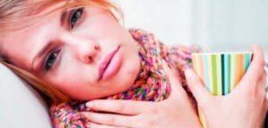 Причины появления боли в горле