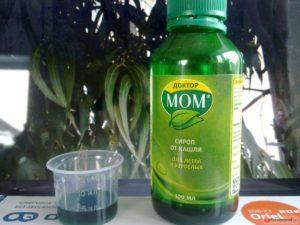 Как давать сироп Доктор МОМ детям