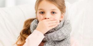 сильный кашель у ребёнка