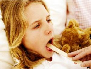 Симптоматика детского ларингита
