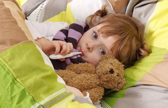 Уход за детьми при кашле